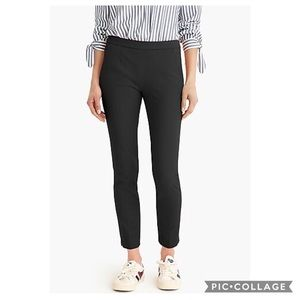 J Crew Martie Slim Crop Pant In Bi-Stretch Cotton